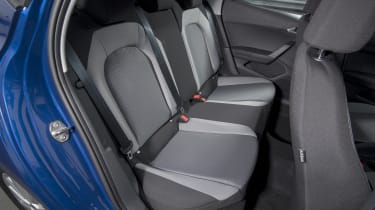 SEAT Ibiza 1.0 petrol - back seats