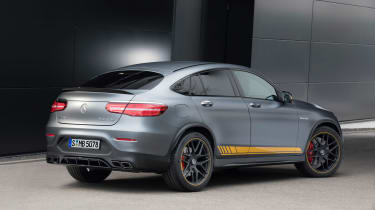 Mercedes-AMG GLC 63 Coupe Edition 1 rear static