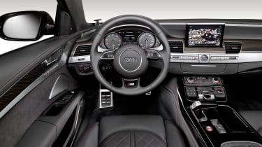 Audi S8 Plus - interior