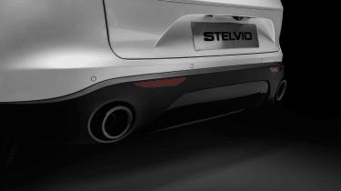 Alfa Romeo Stelvio Ti - exhausts