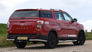 SsangYong Musso long term review - rear static