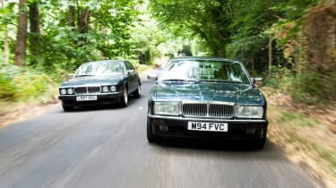 Jaguar XJ12 S1 and XJ40 XJ6