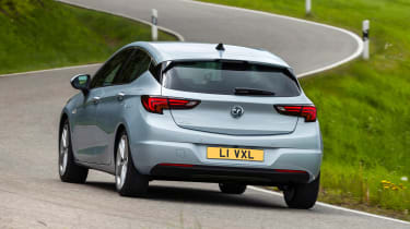 Vauxhall Astra - rear action