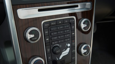 Used Volvo XC60 - centre console