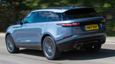 Range Rover Velar - rear quarter motion