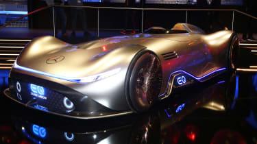 Mercedes Vision EQ Silver Arrow concept - Frankfurt