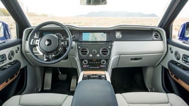 Rolls-Royce Cullinan interior