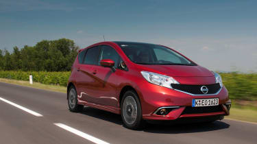 Nissan Note 1.2 DIG-S front action