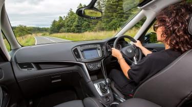 Vauxhall Zafira Tourer 2016 cabin