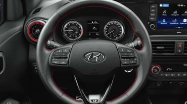 Hyundai i10 N Line - steering wheel