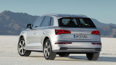 Audi Q5 SUV - rear quarter silver 2