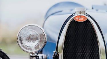 Bugatti baby Type 35 - grille