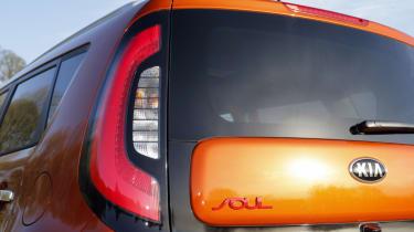 Kia Soul Sport - tail-light