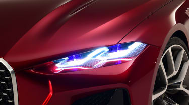 BMW Concept 4 Series - front light