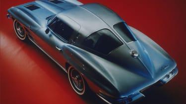Corvette - aerial rear shot