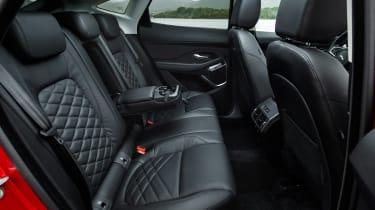 Jaguar E-Pace 240D diesel - back seats
