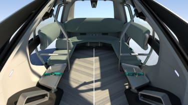 Renault EZ-GO concept - cabin