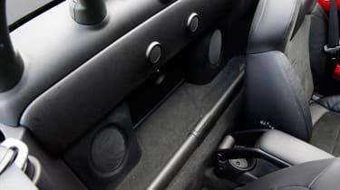MINI JCW Roadster detail