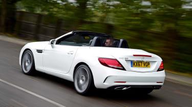 Mercedes SLC 180 - rear