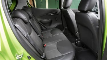 Vauxhall Viva 2015 - rear seats