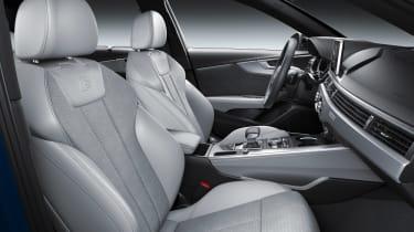 Audi A4 facelift - front seats