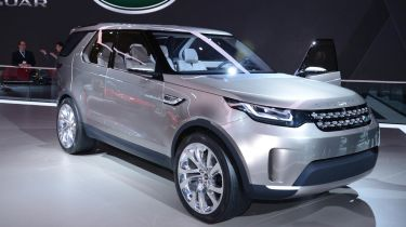 Land Rover Discovery Vision Concept stand front