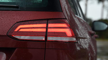 vw golf estate rear light