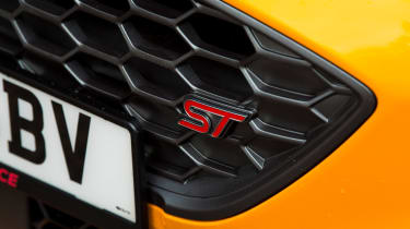 Ford Focus ST Estate: long-term test review - first report - grille