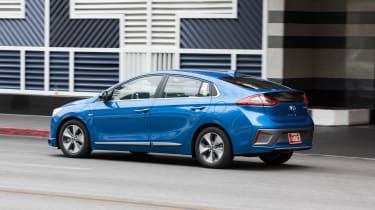 Hyundai Ioniq autonomous - side/rear