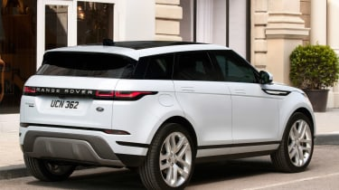 New Range Rover Evoque - white rear