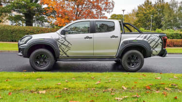 Isuzu D-Max XTR - side static