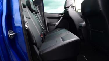 Ford Ranger - rear seats