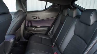 Toyota C-HR petrol - rear seats
