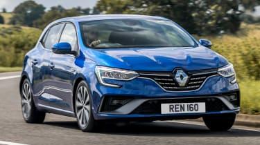 Renault Megane E-Tech PHEV - front action