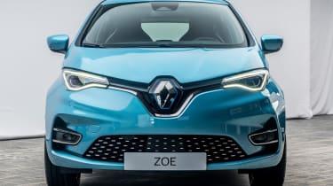 Renault ZOE - full front