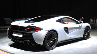 McLaren 570GT 2016 - Geneva Reveal Side