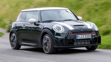 MINI JCW Anniversary Edition - front tracking