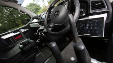 Disability driving feature - VW steering wheel