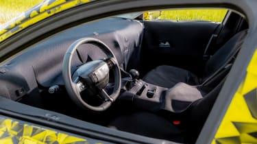 Vauxhall Astra prototype - dash