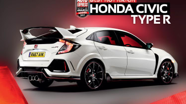 Hot Hatch of the Year 2017 - Honda Civic Type R