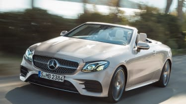 Mercedes E-Class Cabriolet 2017 - AMG Line front tracking