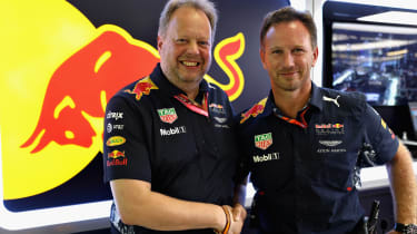Andy Palmer and Christian Horner