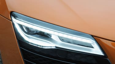 Audi R8 Spyder headlight