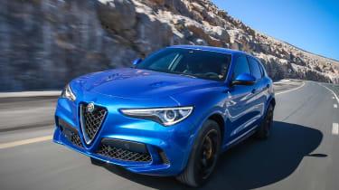Alfa Romeo Stelvio Quadrifoglio  - nose