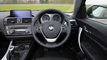 BMW 2 Series 220d interior