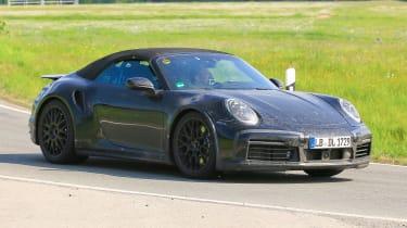 New Porsche 911 Cabriolet - front
