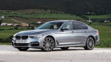 BMW 520d M Sport - front static