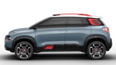Citroen C-Aircross Concept 2017 - side
