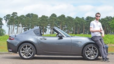 Our fleet cars 2017 - Mazda MX-5 RF