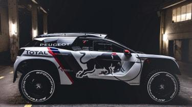 Peugeot 3008 DKR - side profile